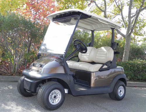 2018 Club Car Precedent Demo