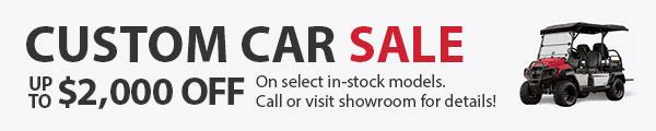 Custom Car Sale