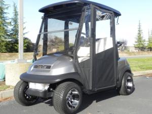 Golf Cart Hinged Door Enclosure