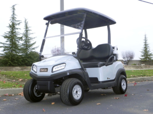 Club Car Tempo, Platinum molded-in color with OEM lights