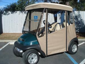 Custom Golf Cart Enclosure