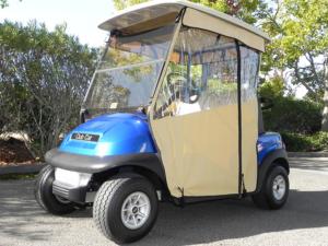 Golf Cart Enclosure Track Style