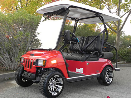Club Car NEV / LSV Street-Legal Golf Cars for Sale