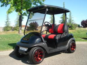 Club Car Precedent, Black color