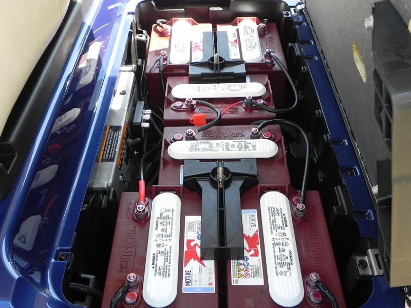 Club Car Precedent AC, 2015, Sapphire