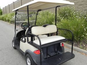 2009 Club Car Precedent, Beig
