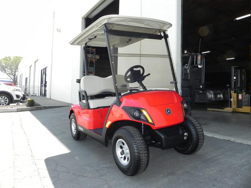 2020 Yamaha Drive2, Arsenal Red