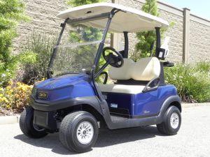 Club Car Tempo, Dark Blue color, 2-passenger