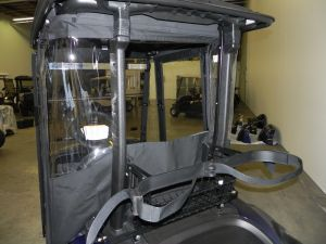 Drive2 black rear window rolled up
